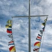 Glen Cove American Flag Art Print