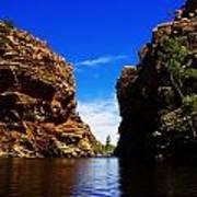Glen Helen Gorge-outback Central Australia V2 Art Print