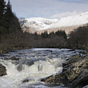 Glen Orchy Scotland Art Print
