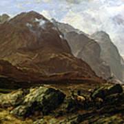 Glencoe, 1864 Art Print