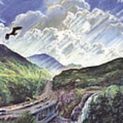 Glencoe Print by Steve Crisp
