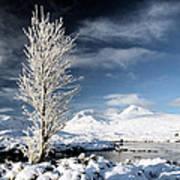 Glencoe Winter Landscape Art Print
