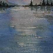 Glimmering Water Art Print
