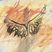 Glimpse Of The Angelic Art Print