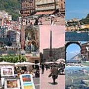 Glimpses Of Italy Art Print