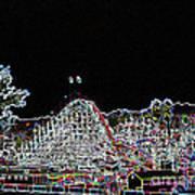 glo 248- Rollercoaster Art Print