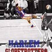 Globetrotters Super Slam Print by Robert Saunders Jr