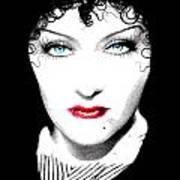 Gloria Swanson - Edith Piaf Art Print