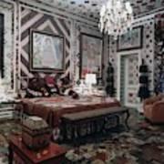 Gloria Vanderbilt's Bedroom Art Print