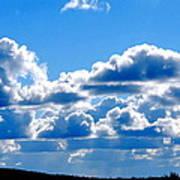 Glorious Clouds I Art Print