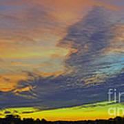 Glorious Sunset Art Print