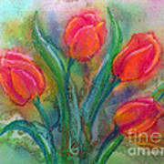 Glorious Tulips Art Print