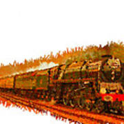 Glory Train To Heaven Art Print