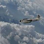 Gloster Meteor  Art Print
