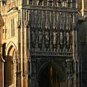Gloucester Cathedral Entrance Art Print