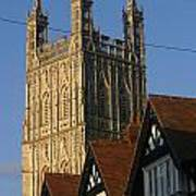 Gloucester Cathedral Spire Art Print