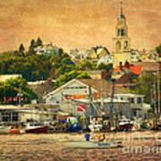 Gloucester Harbor Art Print