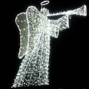 Glowing Angel Art Print