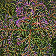 Glowing Vines Art Print