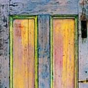 Glowingthrough Painted Door Art Print
