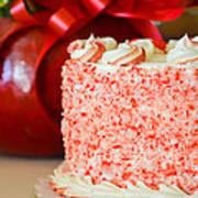 Gluten Free Peppermint Cake Art Print