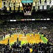 Go Celtics Print by David Schneider