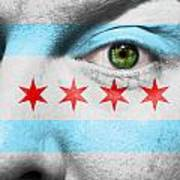Go Chicago Art Print by Semmick Photo
