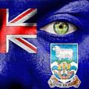 Go Falkland Islands Art Print