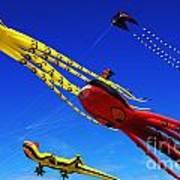Go Fly A Kite 7 Art Print