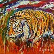 Go Get Them Tiger Art Print