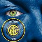 Go Inter Milan Art Print