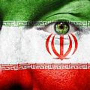 Go Iran Art Print