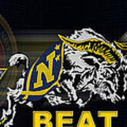 Go Navy Beat Army Art Print