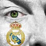 Go Real Madrid Art Print
