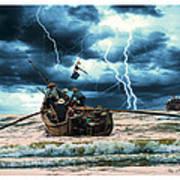Go Though The Storm Art Print