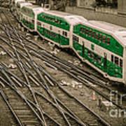 Go Train Art Print