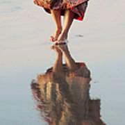 Goa Reflections  Art Print