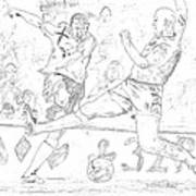 Goal Art Print