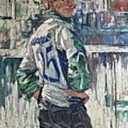 Goalkeeper Art Print