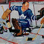 Goaltender Art Print