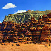 Goblin Valley Pano Art Print