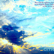 God Shine #2 Art Print