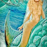 Goddess Atargatis 1000 Bc Art Print
