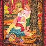 Goddess Crowning Art Print