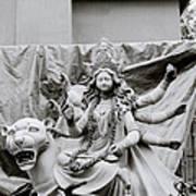 Goddess Durga Art Print by Shaun Higson