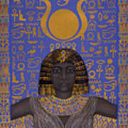 Goddess Isis Art Print by Diana Perfect
