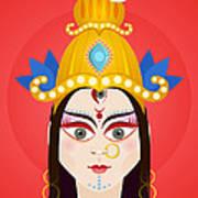 Goddess Maa Durga Art Print