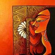 Goddess Of Creation Art Print