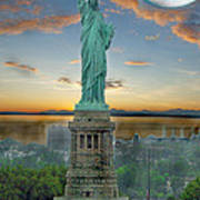 Goddess Of Freedom Art Print by Gary Keesler