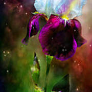 Goddess Of The Rainbow Art Print